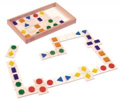 3-D Shapes Dominoes